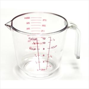 Sunbeam 1 1/2 Cup Plastic Measuring Cup