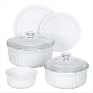 Corningware French White 7-Pc Set