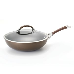 "Circulon Symmetry Hard Anodized 12"" Essential Pan (Chocolate)"