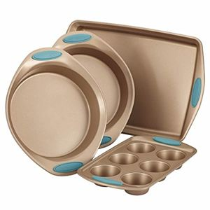 Rachel Ray 4-Pc Cucina Bakeware Set (Blue)