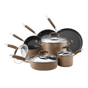 Anolon Advanced Bronze 11-Pc Cookware Set