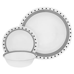 Corelle Livingware 16-Pc Set, Service for 4 (City Block)