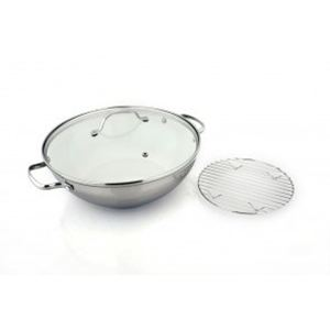 Kevin Dundon Signature 12'' Chef's Pot - Marshmallow