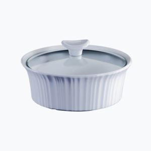 Corningware French White III 1.5-Qt Round Casserole