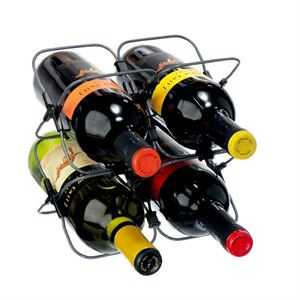 Metrokane Houdini Wine Rack (Holds 4 Bottles)