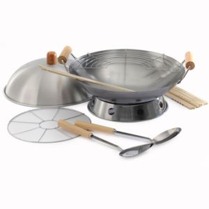 "NORPRO 14"" Wok, 10 Pc Set"