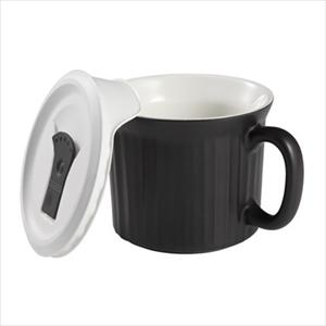 Corningware French White Pop-Ins 20-ounce Mug (Tuxedo)