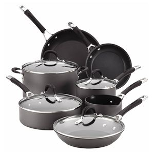 Circulon 11-Pc Momentum Hard Anodized Cookware Set