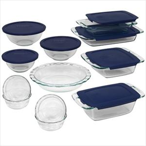 Pyrex Easy Grab 19-Pc Bake Set