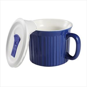 Corningware French White Pop-Ins 20-ounce Mug (Blueberry)
