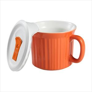 Corningware French White Pop-Ins 20-ounce Mug (Carrot)