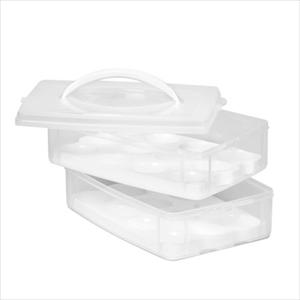 Snapware Snap 'N Stack Cookie and Cupcake Carrier
