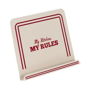 "Cake Boss Cookbook Stand ""My Kitchen, My Rules"""