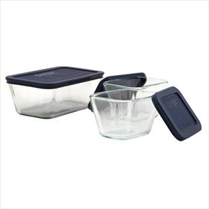Pyrex Storage Plus 6-piece Set